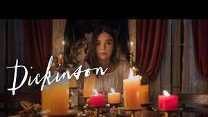 "Hailee Steinfeld standing in a room: Emily's quest for fame has only just begun. A new season of Dickinson premieres January 8 on the Apple TV app: https://apple.co/_Dickinson   Dickinson is a half-hour comedy series starring Oscar® nominee Hailee Steinfeld. Dickinson audaciously explores the constraints of society, gender, and family from the perspective of rebellious young poet Emily Dickinson.  Created, written, and executive produced by Alena Smith and executive produced by Hailee Steinfeld, ""Dickinson"" stars Hailee Steinfeld, Jane Krakowski, Toby Huss, Anna Baryshnikov, Ella Hunt, and Adrian Blake Enscoe. Wiz Khalifa guest stars.  Subscribe to Apple TV's YouTube channel: https://apple.co/AppleTVYouTube  Follow Dickinson: Instagram: https://instagram.com/dickinson Twitter: https://twitter.com/dickinson  Follow Apple TV: Instagram: https://instagram.com/AppleTV Facebook: https://facebook.com/AppleTV Twitter: https://twitter.com/AppleTV Giphy: https://giphy.com/AppleTV  More from Apple TV: https://apple.co/32qgOEJ  Apple TV+ is a streaming service with original stories from the most creative minds in TV and film. Watch now on the Apple TV app: https://apple.co/_AppleTVapp  #Dickinson #HaileeSteinfeld #AppleTV"