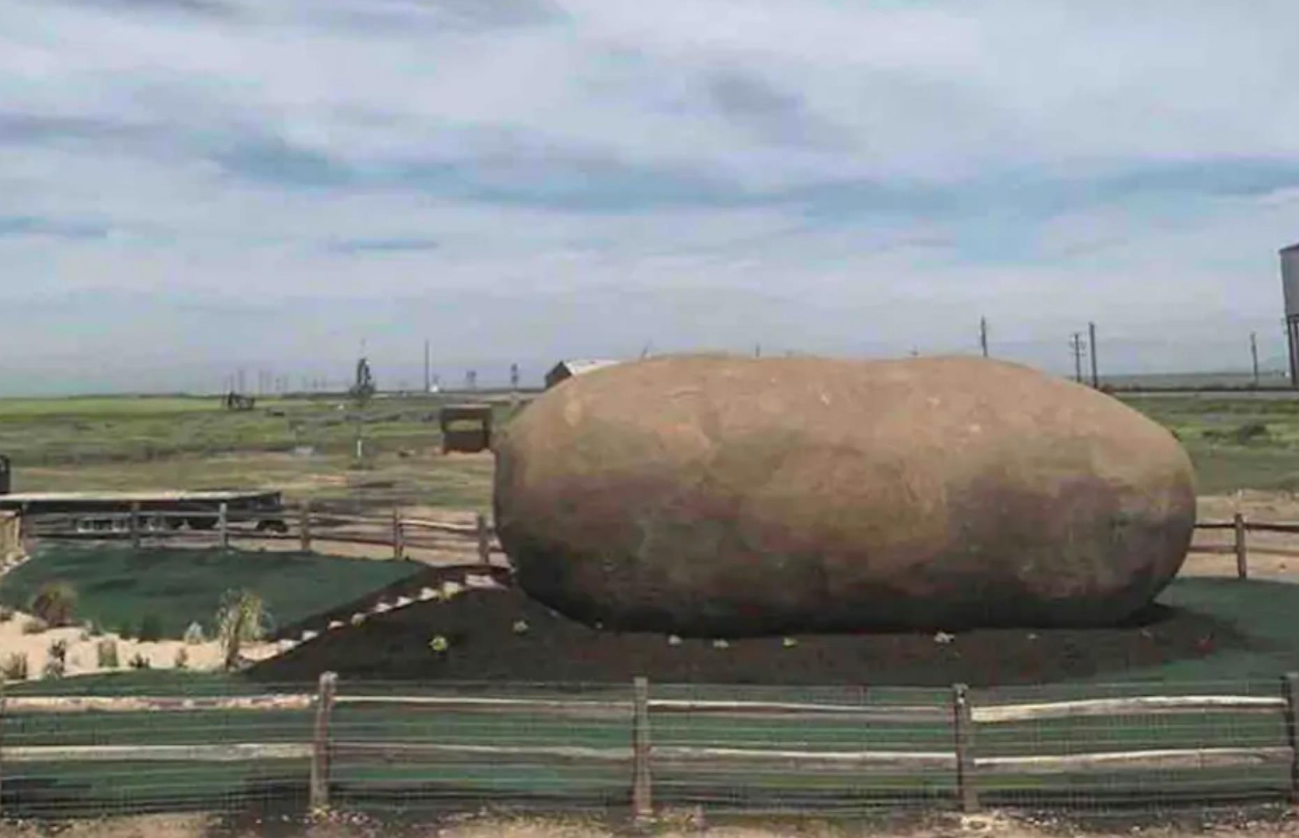 Slide 14 of 52: Where else could you sleep in a giant potato but Idaho? This six-ton spud spent seven years on the road as part of the Idaho Potato Commission's Big Idaho Potato Tour around the US. It's now retired and lives on a 400-acre farm near downtown Boise, having been beautifully restored into a one-bedroom retreat. The interior, with whitewashed walls, plants and chic pink furniture, is an elegant surprise – as is the gorgeous outdoor bathroom housed in a converted silo.
