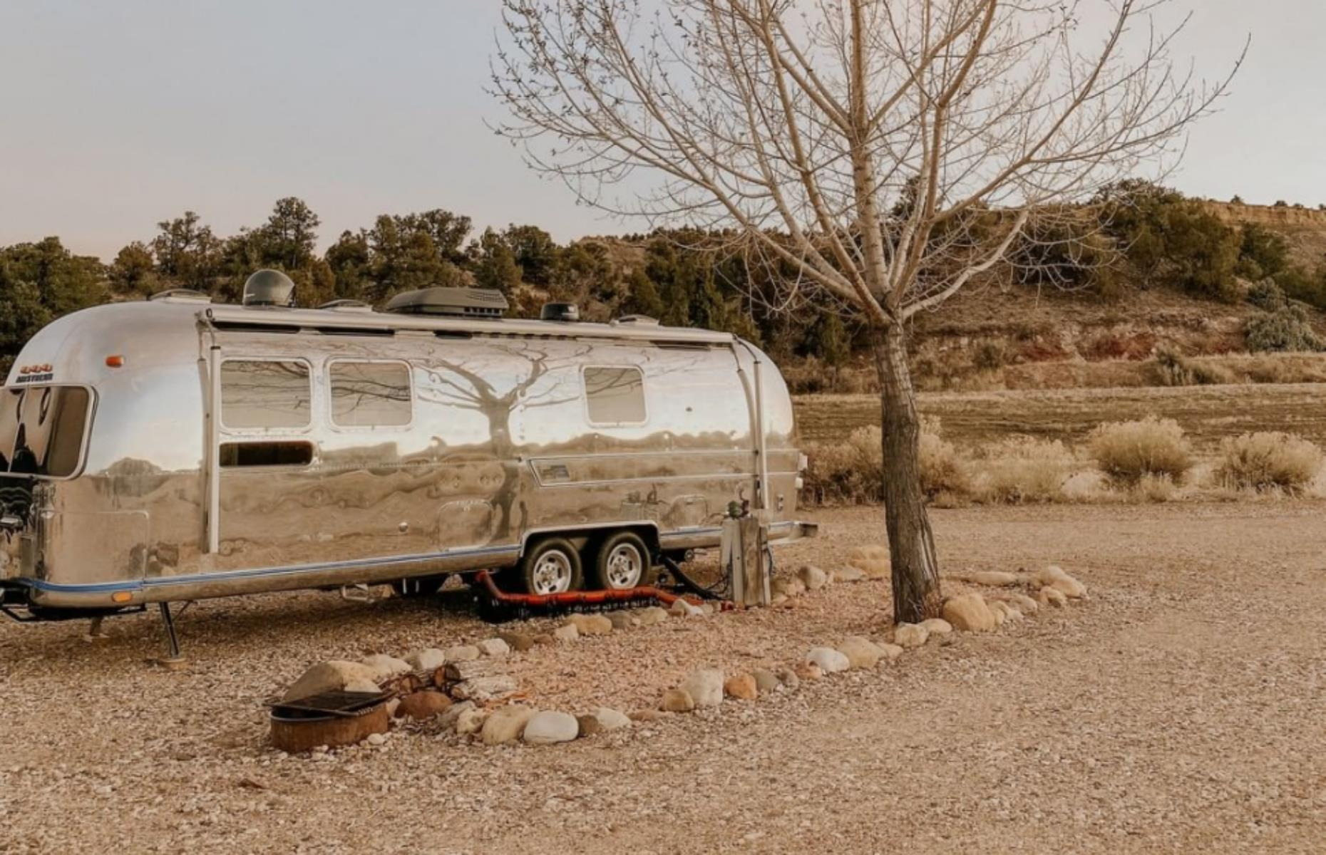 Slide 46 of 52: Locations don't come much more inspiring than that occupied by Yonder Escalante, launched in fall 2020. The chic and cozy Airstream trailers and cabins are dotted around the site of an old drive-in movie theater, within Grand Staircase-Escalante National Monument and close to Bryce Canyon National Park. Lovely touches such as outdoor showers, a nightly bonfire with s'mores and outdoor film screenings really make the most of the incredible surroundings. See the official website for information on the resort's COVID-19 measures, including enhanced cleaning and flexible booking.