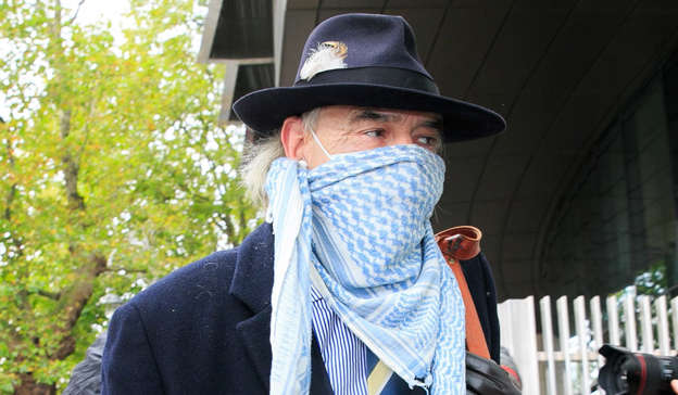 a person wearing a hat: Bailey believes the Netflix documentary on the woman's murder — which was created in close partnership with Sophie's family — will be a 'negative attack piece on me and my character' he said, despite agreeing to be interviewed for it. Pic: Gareth Chaney/Collins