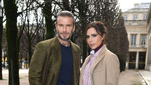 David Beckham, Victoria Beckham are posing for a picture: Posh and Becks discovered they were the victims of an inside job when Victoria's mother saw their belongings appear on eBay for sale. Whilst visiting her daughter's home in Hertfordshire, she discovered that $5 million worth of jewellery and designer clothes were missing. The housekeepers - who had been on the payroll for 10 years - were the prime suspects of the theft.