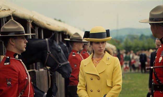 Slide 1 of 66: After Princess Anne (played by Erin Doherty) emerged as the breakout star of The Crown season three, many have wondered what the royal was like in real life. Yes, she actually dated Andrew Parker Bowles before her brother Prince Charles romanced Camilla. She's known to have a passion for riding horses and sporting stylish headwear. She even endured a kidnapping attempt in 1974—an event that didn't make its way into the third season. Ahead, take a look back at Anne's real-life moments that took place at the same time as the third season of The Crown to refresh yourself before the fourth season is released on November 15.