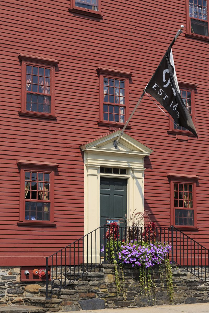 Slide 40 of 51: The White Horse Tavern in Newport, Rhode Island has been a popular spot to grab an ale since 1673, making it the oldest tavern in America. At nearly 350 years old, the restaurant is still up and running today!