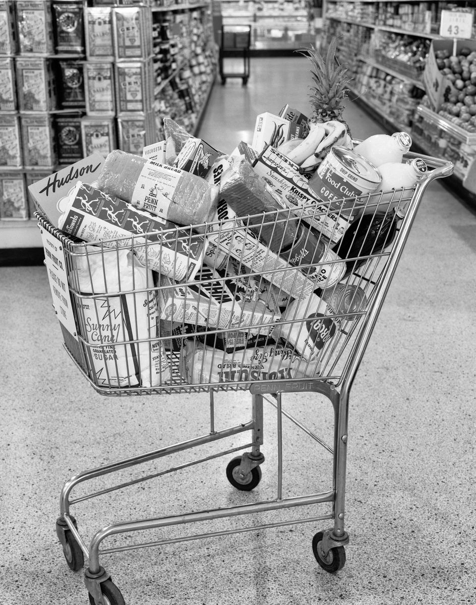 "Slide 37 of 51: Next time you use a cart at the grocery store, thank Oklahoma. Shopping carts were invented in 1937 by the owner of the Piggy Wiggly supermarket chain, who thought of the ""folding basket carrier"" as a way for customers to carry their groceries. RELATED: 15 Grocery Shopping Tricks That Will Save You Time and Money"