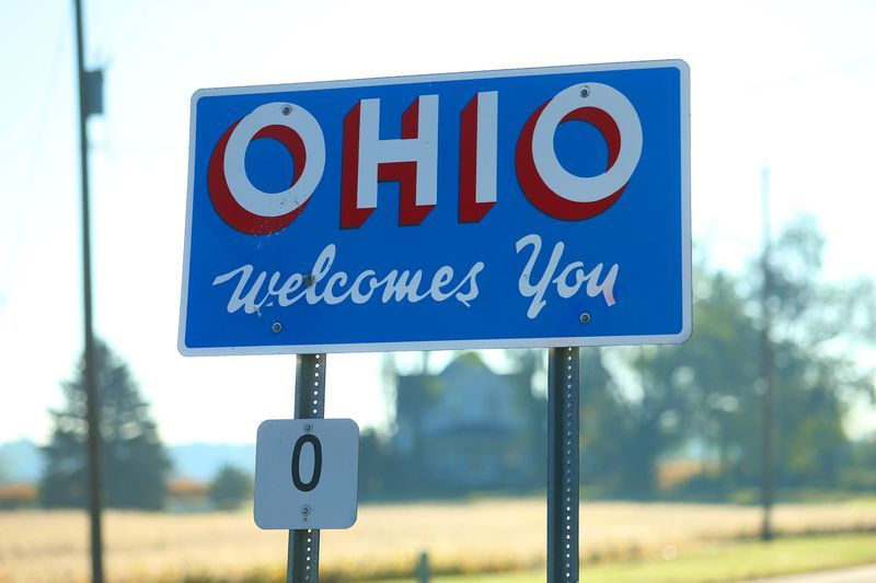 Slide 36 of 51: Technically, Ohio wasn't officially granted statehood until 1953, when Dwight D. Eisenhower backdated Ohio's entrance to the union. The lesson? Always remember to keep up with your own paperwork.