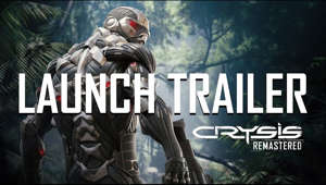 Crysis Remastered is out now for PC, Xbox One, and PlayStation 4. The remaster of the seminal first-person shooter was developed and optimized in partnership with Saber Interactive, and follows the launch of Crysis Remastered for Nintendo Switch.  Get it now -  PC: https://www.epicgames.com/store/en-US/product/crysis-remastered/ Ps4: https://store.playstation.com/en-us/product/UP4291-CUSA18659_00-7610352465603845 Xbox: https://www.microsoft.com/en-us/p/crysis-remastered/9nwq4tjkpj7b?activetab=pivot:overviewtab Switch: https://www.nintendo.com/games/detail/crysis-remastered-switch/  Learn more: www.crysis.com  Subscribe here for future updates!    Follow us on Social Media:  https://www.facebook.com/crysis  https://www.twitter.com/Crysis  https://www.instagram.com/crysis