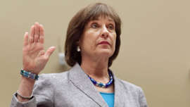 Lois Lerner posing for the camera