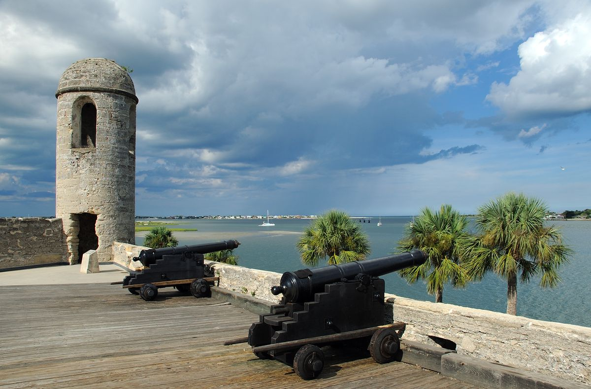Slide 14 of 21: Forget Orlando or Miami—St. Augustine is historic and beautiful. It's the oldest city in the United States and is most known for the Spanish colonial architecture that makes you feel like you're actually somewhere in Europe. At the same time, though, you get the perfect sandy beaches of the Atlantic. Spend some time at Castillo de San Marcos, a 17th century Spanish stone fortress, in between beach days.
