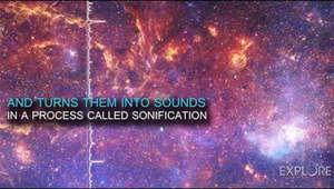 "a star filled sky: Would you like to ""listen"" to the center of the Milky Way?  A new project takes images from NASA's Chandra X-ray Observatory and other telescopes and turns them into sounds.  This process, called sonification, translates the positions and brightness in the telescopes' images into different intensities and volumes.  Sonification allows different audiences — including blind and visually-impaired communities — to explore space through data.  The new sonification project has also turned images from the supernova remnant Cassiopeia A and the ""Pillars of Creation"" into sounds."