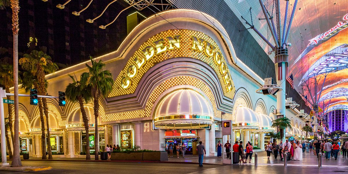 Slide 29 of 53: Located on historic Fremont Street, the Golden Nugget, which opened in 1946, is all about old-Vegas ambiance. It attracted plenty of gangsters and Hollywood stars during its heyday, and today, it's still a fun retro place to hang, especially in the 38,000-square-foot casino.