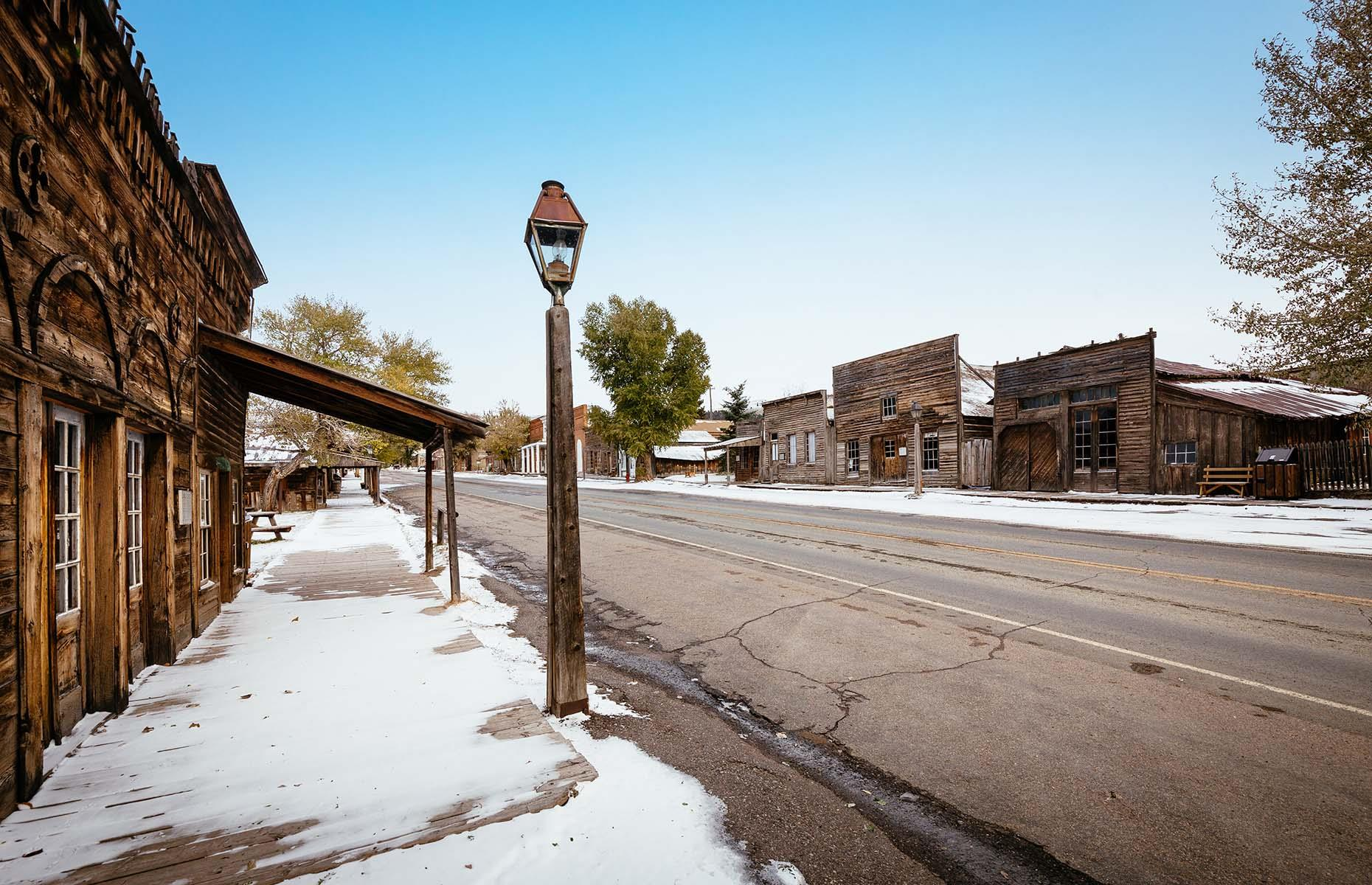 Slide 2 of 46: Best known as the former home of the famous frontierswoman Calamity Jane, this Gold Rush town blossomed in the 1860s as gold was discovered in the nearby Alder Gulch.