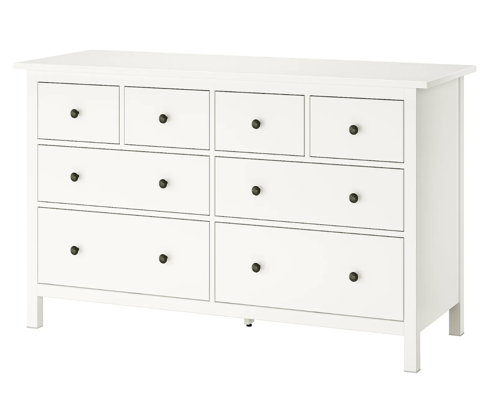 Slide 4 of 26: $249 Shop Now Why you'll want it: Hemnes has a classic, traditional look that may please buyers turned off by many of Ikea's more modern designs. It comes in several colors and sizes, but the popular eight-drawer version is particularly beloved because it offers so much space for everything from T-shirts to jeans to bulky sweaters. Related: Vintage Ikea Furniture Pieces That Resell for Serious Money
