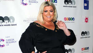 Gemma Collins posing for the camera