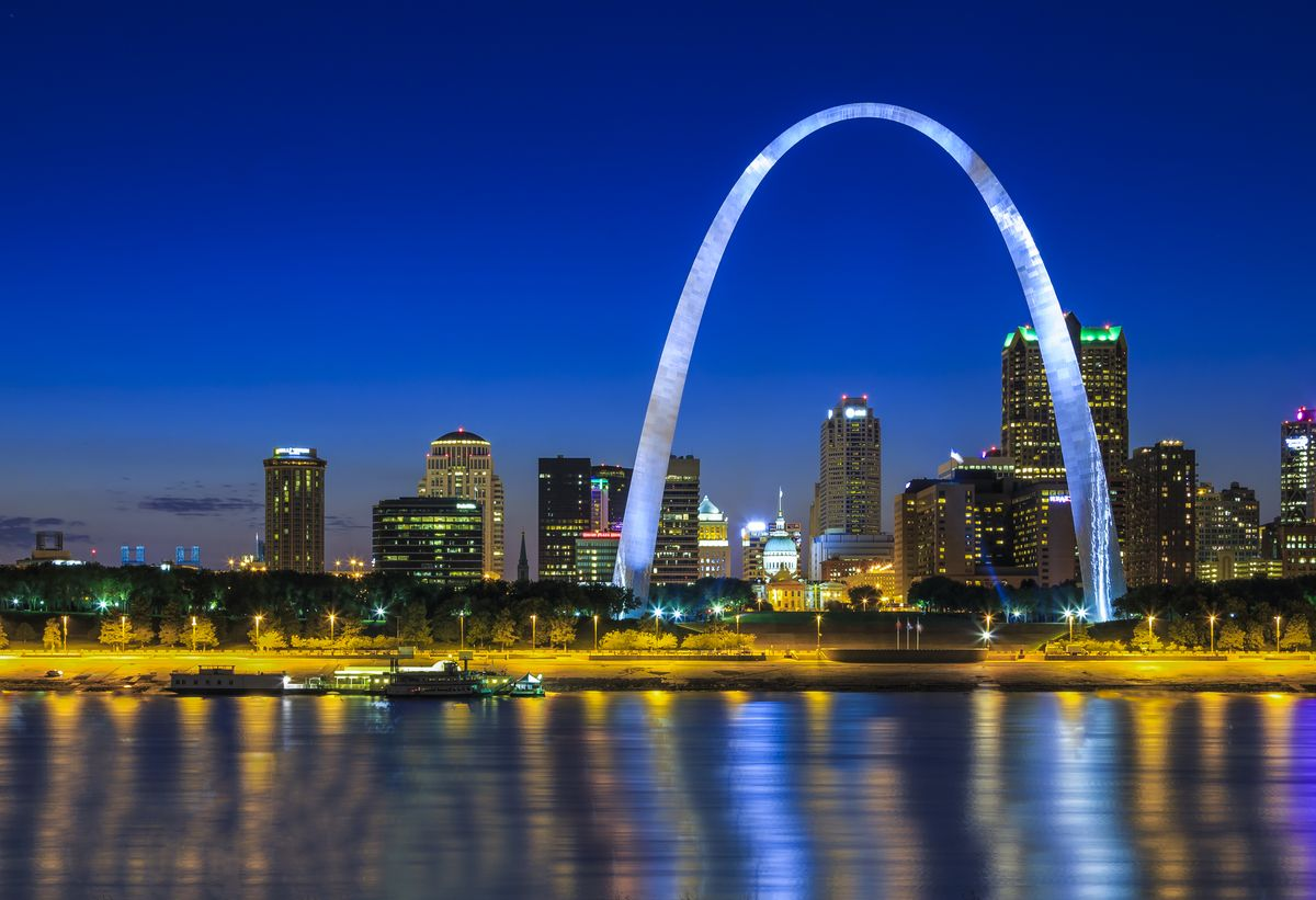 Slide 26 of 51: Gateway Arch National Park This St. Louis landmark welcomes visitors to the Western half of the U.S. and officially got upgraded from the Jefferson National Expansion Memorial in 2018. While this park is small, its a must visit. Take the tram to the top of the arch for unbelievable views, unless you are claustrophobic, in which case you might want to enjoy this park from the ground.