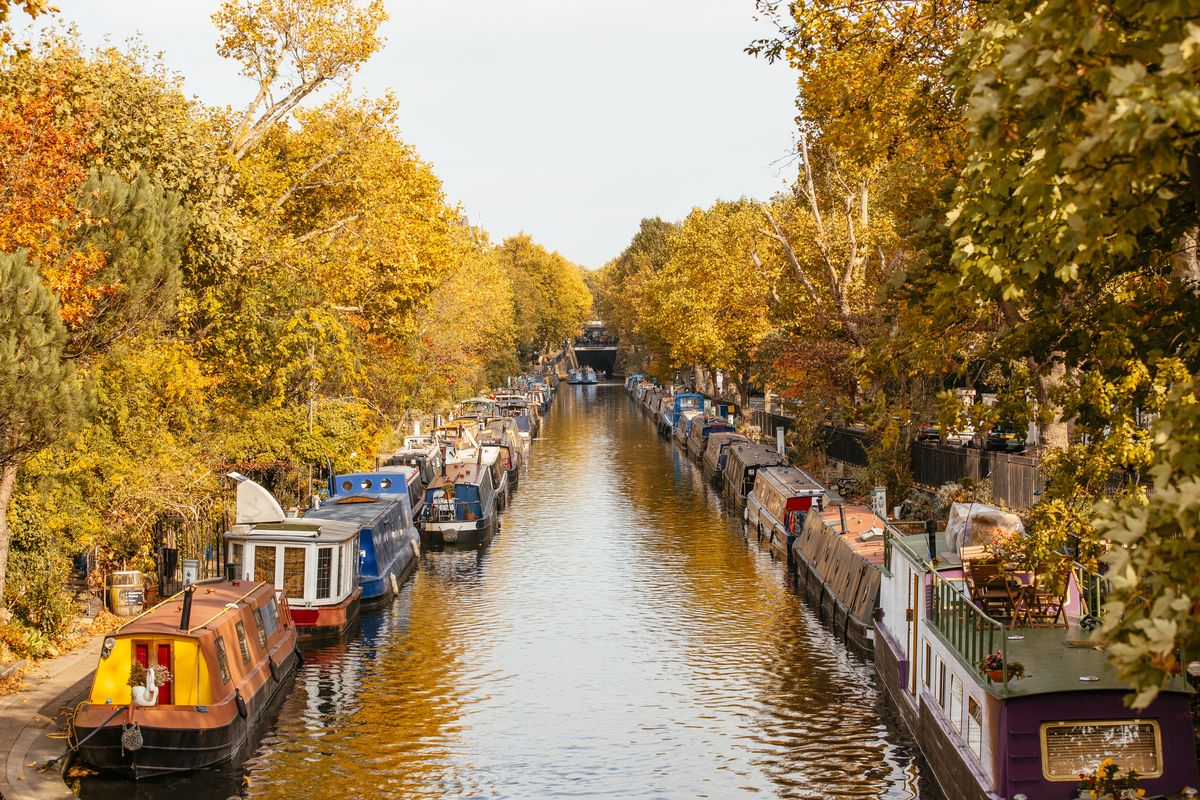 Slide 33 of 33: Little Venice gets its name for its similarities to the Italian city. The canals and waterways in West London are just north of Paddington.