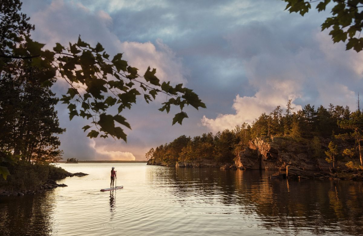 Slide 24 of 51: Voyageurs National ParkIf you are into kayaking, canoeing, paddleboarding, or camping, head to to Northern Minnesota for this park (most easily accessible by boat), which is nestled along the border of Canada.