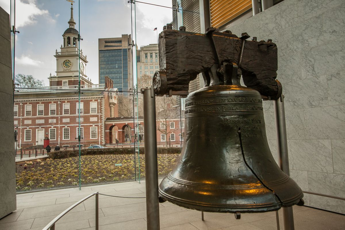 Slide 39 of 51: Independence National Historical HallMuch of Philadelphia is covered with cool historic sites from the time of the American Revolution, but a trip to see the Liberty Bell and Independence Hall where the Declaration of Independence and Constitution were signed is a must.