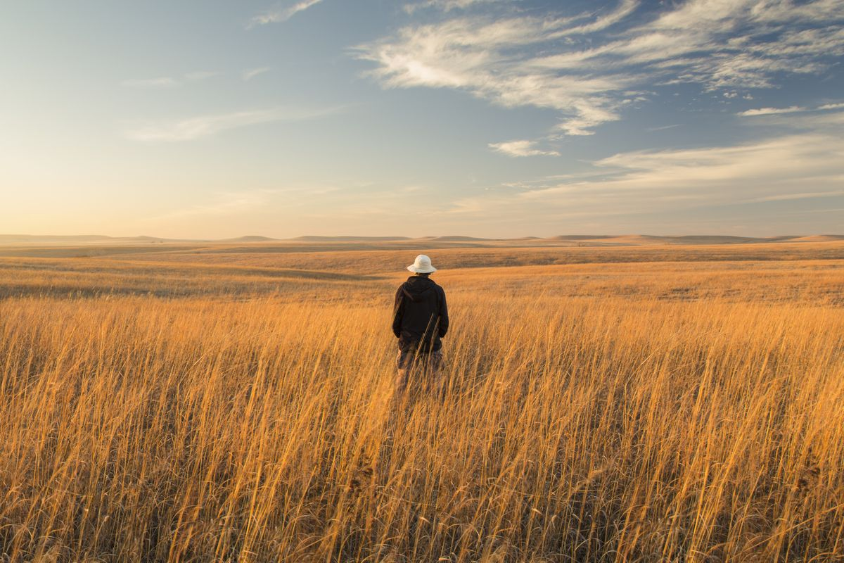 Slide 17 of 51: Tallgrass Prairie National Preserve While land that looked like this pictured used to cover 170 million miles of America, very little of it still exists today. This preserve in the Kansas Flint Hills helps keep what remains in its natural state.