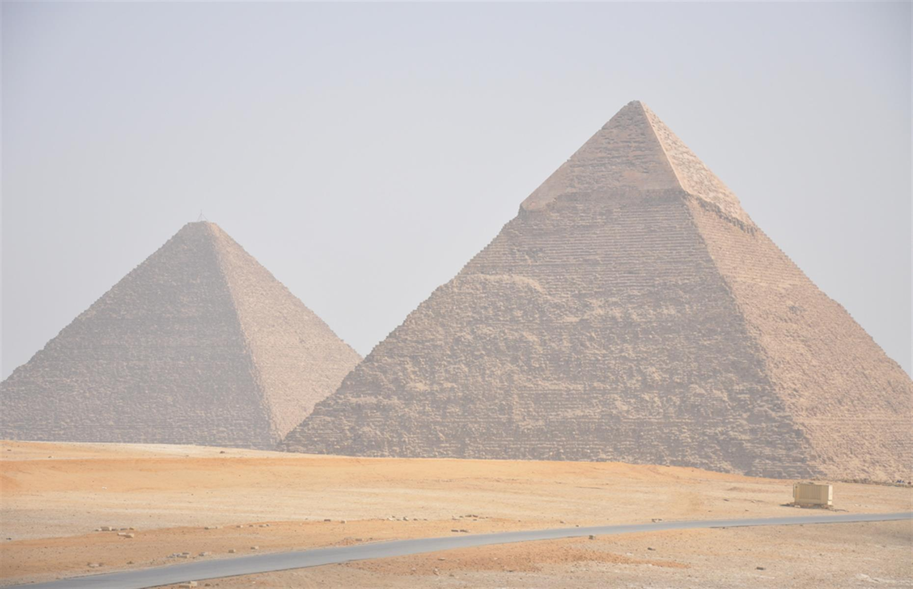 Slide 31 of 33: Not only is pollution from the nearby city of Cairo damaging the incredible monuments, it's causing decreased visibility for tourists. Those views aren't so Instagrammable when you add a smog filter. Check out new secrets of the world's ancient wonders here.
