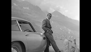 James Bond pursues Goldfinger through the Furka Pass in Switzerland