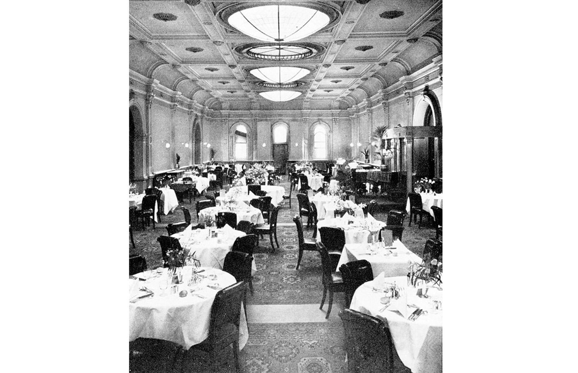 Slide 12 of 41: In 1923, the hotel, which had just been refurbished, hosted a luncheon attended by the Prince of Wales (later Edward VIII) – and was renamed in his honor. The English cricket team has also stayed here, with nearby factory workers apparently loudly knocking over milk urns in an attempt to disturb their sleep (and hinder their performance against the Aussies). Today, period furnishings – from the antiques-stuffed lobby to the opulent, gilded ballroom with stained-glass windows – maintain a sense of history.