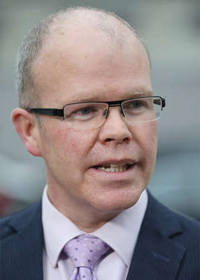 Peadar Tóibín wearing a suit and tie: Mr Toibin has proposed that the State crackdown on what has been termed a 'pandemic of theft'. Pic: Sam Boal/RollingNews.ie