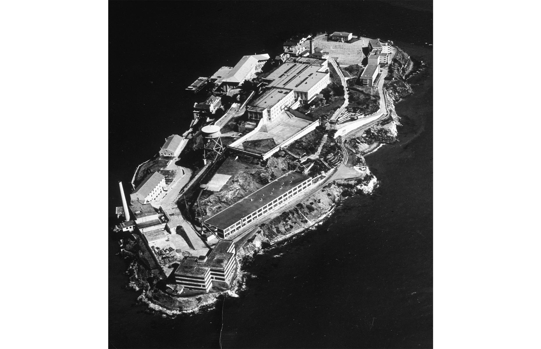 Slide 40 of 48: Alcatraz Island's history is far reaching, serving as a fortress and military jail since the mid-19th century. It became the world-famous federal penitentiary, known as The Rock, in 1934 and housed some of America's most infamous felons, including Al Capone, until it closed in 1963. The island became part of the Golden Gate National Recreation Area in 1972 and opened to the public as an attraction a year later. Today, it usually welcomes around one million tourists annually.