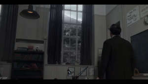 a man standing in front of a window: Aberfan disaster: 1966 tragedy shown in Netflix series The Crown