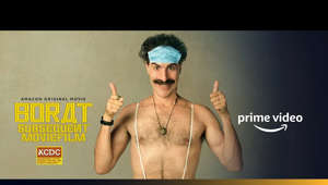 Amazon Prime Video presents Borat: Subsequent Moviefilm Official Trailer 2020  14 years after his first adventure, Kazakhstan's 4th best journalist returns to save the world from 2020. Borat Sagdiyev makes his triumphant return on October 23... HIGH FIVE!  Release Date - 23 October, 2020 only on Amazon Prime Video   For more such videos, subscribe to our YouTube channel ► https://amzn.to/Subscribe Don't forget to push the Bell 🔔 icon to never miss an update.  For more updates, stay connected with us on ► Facebook: https://www.facebook.com/PrimeVideoIN/ ► Twitter: https://twitter.com/PrimeVideoIN ► Instagram: https://www.instagram.com/primevideoin ► Watch Now: https://primevideo.com  About Amazon Prime Video  Amazon Prime Video offers unlimited ad-free streaming of Prime Originals, premium Hollywood, Bollywood & Regional movies, and TV shows. Enjoy on your phone, tablet or SmartTV. Or you can download your favorite movies and TV shows to watch them offline.  ► Join Prime today at just Rs.999/year only. https://amzn.to/SignUp  #Borat #OfficialTrailer #AmazonPrimeVideo