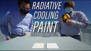Full story: https://www.purdue.edu/newsroom/releases/2020/Q4/this-white-paint-could-reduce-the-need-for-air-conditioning-by-keeping-surfaces-cooler-than-surroundings.html What if paint could cool off a building enough to not need air conditioning? Prof. Xiulin Ruan has pioneered radiative cooling paint; instead of absorbing sunlight, it radiates the heat back into space. This actually cools surfaces below ambient temperature, something paint has never done before.  Mechanical Engineering: https://purdue.edu/ME