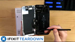 a hand holding a camera: Join us on October 23rd at 10:00am PST to watch us take apart Apple's brand new iPhone 12.   It's our favorite day of the year! iPhone Teardown day! Today we are live streaming our first disassembly of the iPhone 12. Join Kay Kay Clapp iFixit's Director of Things, and Taylor Dixon iFixit Teardown Engineer, as they dig into Apple's latest iPhone and give you their first impressions.   Right after they finish, we'll be doing a full step-by-step, side-by-side teardown of the iPhone 12 and iPhone 12 Pro over on iFixit: https://www.ifixit.com/Teardown/iPhone+12+and+12+Pro+Teardown/137669    Subscribe to our channel for all our latest teardown and repair videos!