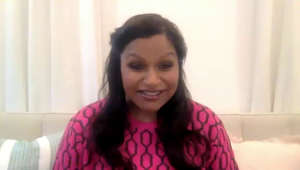 "Mindy Kaling smiling for the camera: Mindy Kaling sits down for a virtual discussion with Jenna Bush Hager as she discusses welcoming her second child, son Spencer, during the pandemic, her new book of essays titled ""Nothing Like I Imagined"" and writing ""Legally Blonde 3."""