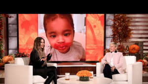 "Khloé Kardashian recently revealed she secretly battled COVID-19 right as the pandemic hit the U.S., and how the scary situation was made even more heartbreaking since she couldn't be with her 2½-year-old daughter True during more than two weeks in quarantine. The ""Keeping Up with the Kardashians"" star also shared her daughter's love for makeup, and told Ellen how co-parenting with True's father Tristan Thompson has been one of the ""hardest things"" she's ever done.  #KhloeKardashian #TheEllenShow #Ellen"