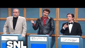 graphical user interface: Alex Trebek (Will Ferrell) gets frustrated when his celebrity guests Sean Connery (Darrell Hammond), Burt Reynolds (Norm Macdonald) and Jerry Lewis (Martin Short) guess only incorrect answers. Aired 12/07/96  WATCH PAST SNL SEASONS Google Play - http://bit.ly/SNLGooglePlay iTunes - http://bit.ly/SNLiTunes   SNL ON SOCIAL SNL Instagram: http://instagram.com/nbcsnl SNL Facebook: https://www.facebook.com/snl SNL Twitter: https://twitter.com/nbcsnl SNL Tumblr: http://nbcsnl.tumblr.com/ SNL Pinterest: http://www.pinterest.com/nbcsnl/   GET MORE NBC Like NBC: http://Facebook.com/NBC Follow NBC: http://Twitter.com/NBC NBC Tumblr: http://NBCtv.tumblr.com/ YouTube: http://www.youtube.com/nbc NBC Instagram: http://instagram.com/nbctv   #SNL