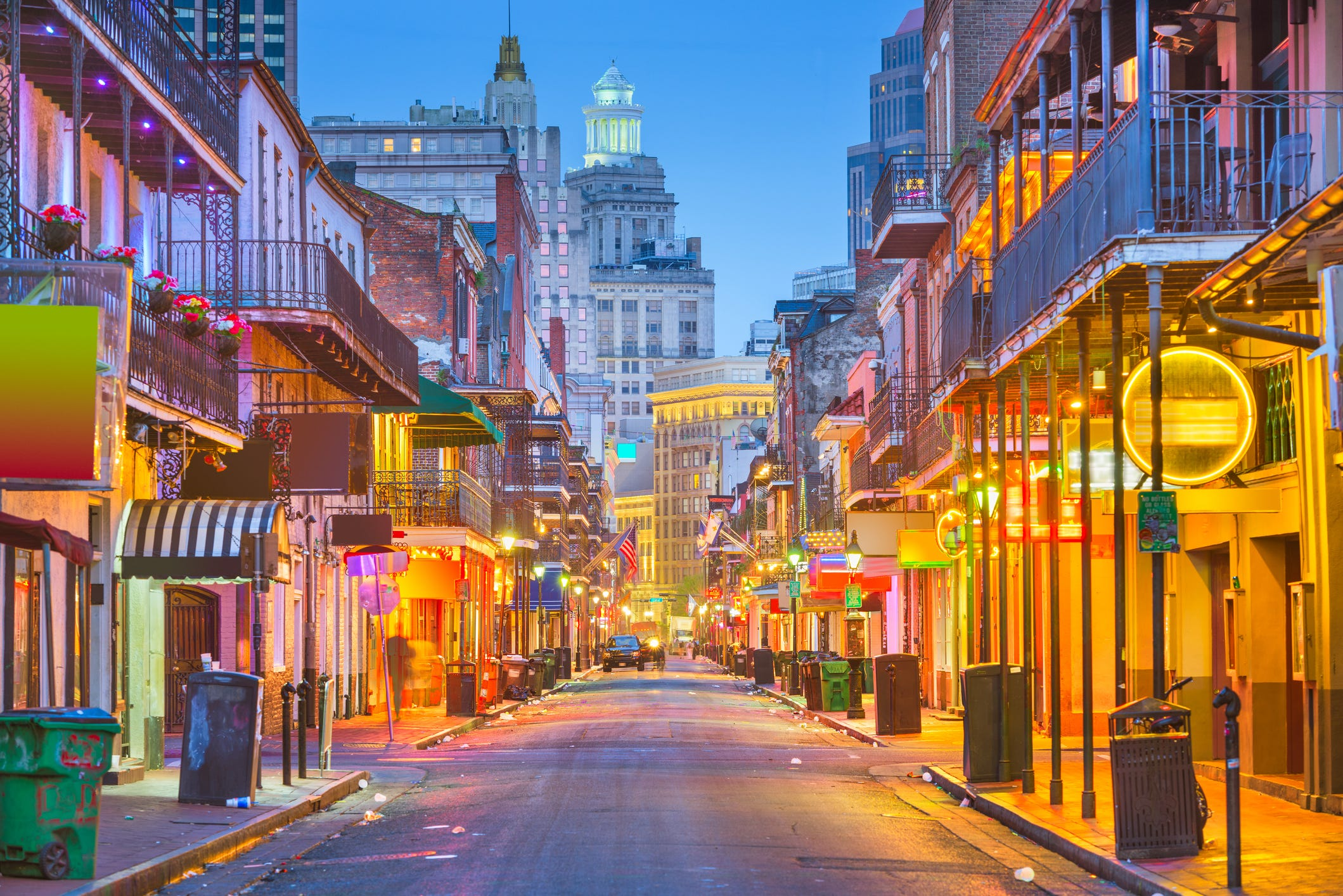 "Slide 2 of 7: 7. New Orleans, Louisiana. New Orleans sits on the Mississippi River near the turquoise waters of the Gulf of Mexico. While it's too early to say what impact the pandemic will have on its signature Mardi Gras celebration, travelers are also drawn to the city for its music scene and array of restaurants. As the New Orleans tourism site puts it, ""even if covid-19 has slowed our roll a little bit, the calendar remains packed with special events and plenty of things to do in New Orleans."""