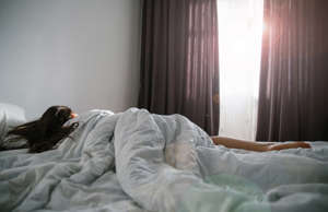 """a person lying on a bed: Imagine a person as a slug in a bed, moving sluggishly or not even moving at all. Slug-a-bed is a term used to describe a person who sleeps in or """"who lies in late,"""" says Watt. Nowadays, our parents call us lazy. But back then, they would yell, """"Stop being a slug-a-bed and get up!"""""""