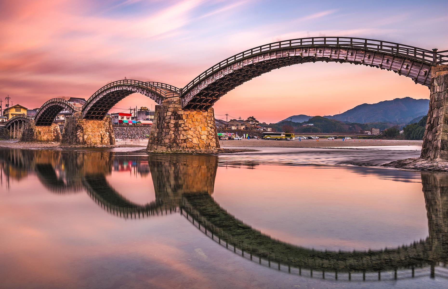 Slide 1 of 31: Whether it's a crumbling old aqueduct or a striking hi-tech construction, a bridge can tell you a surprising amount about a place and its history. Spanning everything from the ornate to the out-there, we've rounded up some of the world's most spectacular bridges.