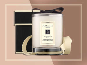 """This """"travel candle"""" is perfect for taking on the road to give your hotel room a cozier feel. Jo Malone Pomegranate Noir Travel Candle, $36 atnordstrom.com"""