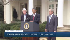 Obama, Bush and Clinton commit to receiving COVID-19 vaccine publicly to demonstrate safety