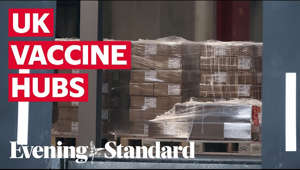 "Subscribe to the Evening Standard on YouTube: https://www.youtube.com/channel/UC7RQon_YwCnp_LbPtEwW65w?sub_confirmation=1  The world's first supplies of approved Covid-19 vaccine arrive in Britain today, it can be revealed.  A refrigerated truck was seen leaving the Pfizer manufacturing plant in Puurs, Belgium, on Thursday morning, thought to be en route to the UK. Earlier, deputy chief medical officer Jonathan Van-Tam said the delivery was arriving in Britain ""within hours"".  ""I do mean hours not days,"" he added shortly before 9.30am.  Officials at Pfizer and in Whitehall were keeping tight-lipped because of security concerns. Interpol has warned that criminal gangs could try to steal the vaccine. The arrival spells joy for the families of elderly people, NHS and care home staff and those made vulnerable by medical conditions, who will be among the first in the queue. It came as:  * Fears that care home residents would miss out on the first wave were eased when Professor Van-Tam indicated that the more robust Oxford vaccine would be carried directly into residential homes by NHS vaccination teams if it gets approval.  Here's a list of the 53 Covid-19 vaccine delivery hubs in England."