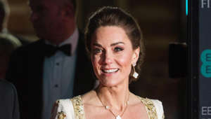 Catherine, Duchess of Cambridge posing for the camera