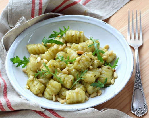 Slide 1 of 50: Gnocchi might seem like a complicated dish that you'll only ever have at a fancy Italian restaurant, but that's simply not true. Learn how to make an authentic Italian gnocchi from scratch, with our tasty, step-by-step recipe.