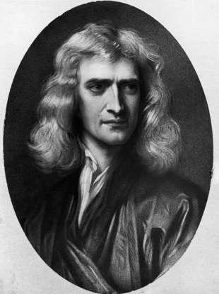 Diapositiva 2 de 14: Isaac Newton, que nació en 1689.