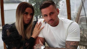 "Katie Price et al. sitting on a table: The former model was spotted kissing former 'Love Island' star Carl Woods in Hertfordshire. She confirmed her new relationship on social media. In an Instagram post, she said: ""I didn't realise how badly I was treated until someone started treating me with respect. This is why there is only one person who has finally put me in my place, I totally respect and can finally let me enjoy life how I've always wanted."""