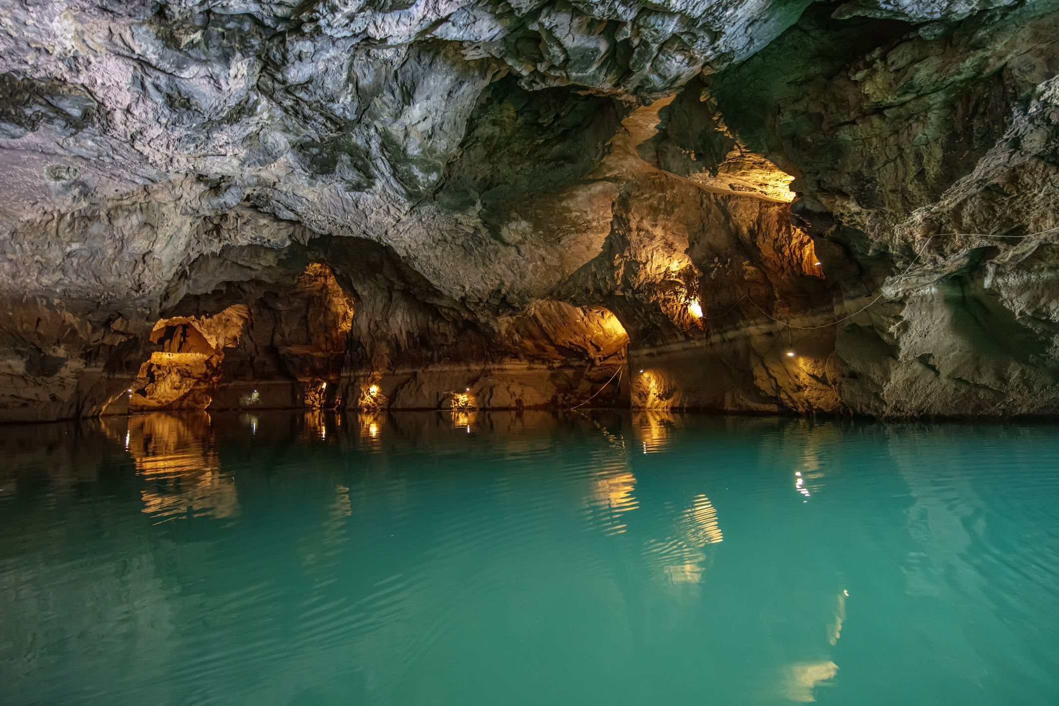 Slide 39 of 52: This cave, located in Antalya, Turkey, is the world's third largest underground water cavern.