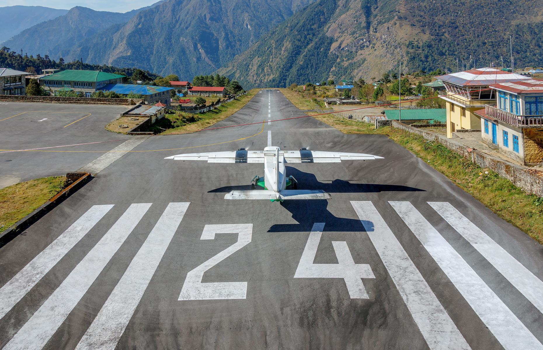 Slide 1 of 44: When it comes to airports, it's fair to say that bigger isn't always better. From icy runways made of compacted snow to perilous clifftop landings, we bring you some of the smallest and most exciting landing strips in the world.