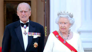 "Prince Philip, Duke of Edinburgh, Elizabeth II are posing for a picture: In 2015, the royal couple went on a state-visit to Berlin. They were greeted by German President Joachim Gauck and his partner, Daniela Schadt. According to 'Town and Country Magazine', the Queen spoke about Prince Philip, saying: ""Prince Philip is, I believe, well-known for declining compliments of any kind. But throughout he has been a constant strength and guide."""