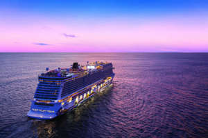 a boat on a body of water: Norwegian Cruise Line has announced that all passengers will need a COVID-19 vaccine to sail when cruising resumes later this year. (Photo courtesy of Norwegian Cruise Line)