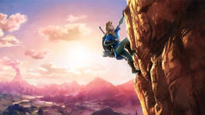 a group of clouds in the sky: Breath of the Wild