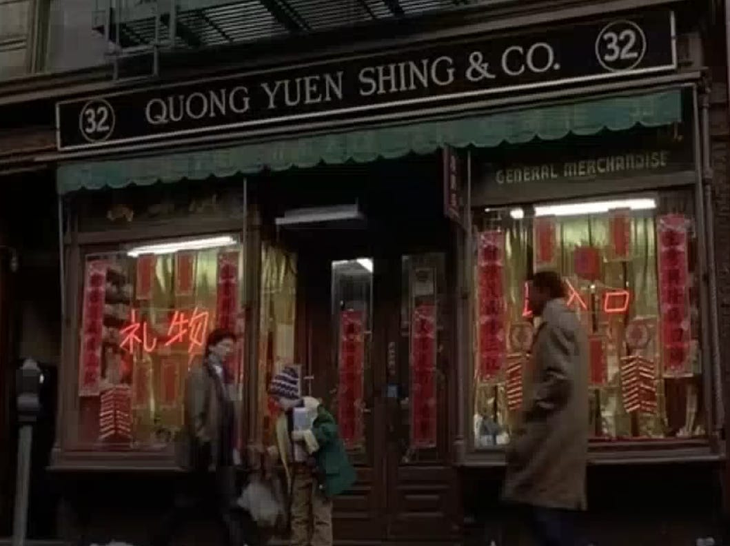 """Slide 13 of 36: Quong Yuen Shing & Co. on Mott Street opened in 1891 in the heart of Chinatown, according to The New York Times.The store sold everything from salted duck eggs to medicinal herbs, and according to """"Home Alone 2"""" directors, it also sold firecrackers, which McCallister stuffs into his backpack as he exits the store.In the mid-1980s, the store received a new name, 32 Mott Street General Store, and in 2003, it closed in the aftermath of September 11, 2001.While visitors can't stop at this specific tour, they can explore Chinatown's history and discover some delicious eats."""